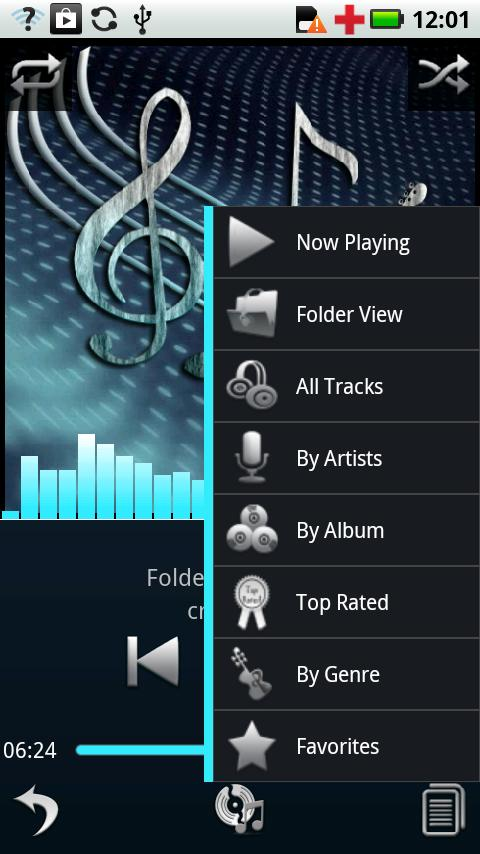 Compact Theme - Euphony MP - screenshot