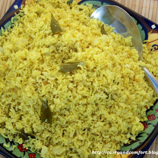 Sri Lankan Fragrant Yellow Rice