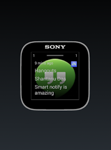 Smart Notifications SmartWatch- screenshot thumbnail