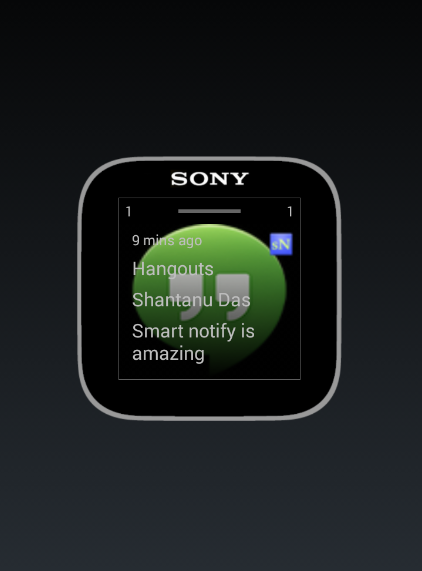 Smart Notifications SmartWatch- screenshot
