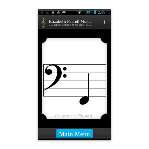 Music Notes Flash Cards