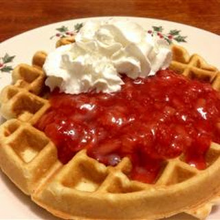 Marian's Delicious Strawberry Sauce.