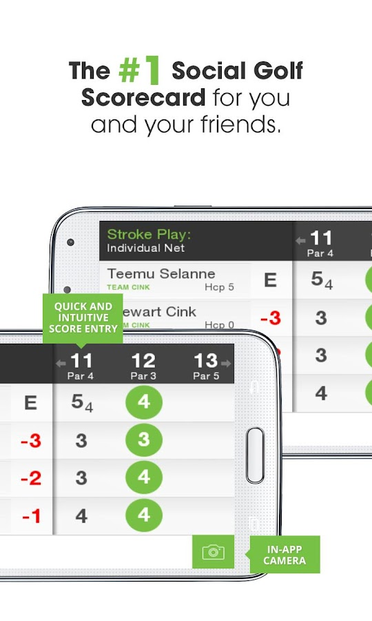 Golf GameBook- screenshot