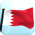 Bahrain Flag 3D Live Wallpaper icon