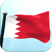 Bahrain Flag 3D Live Wallpaper