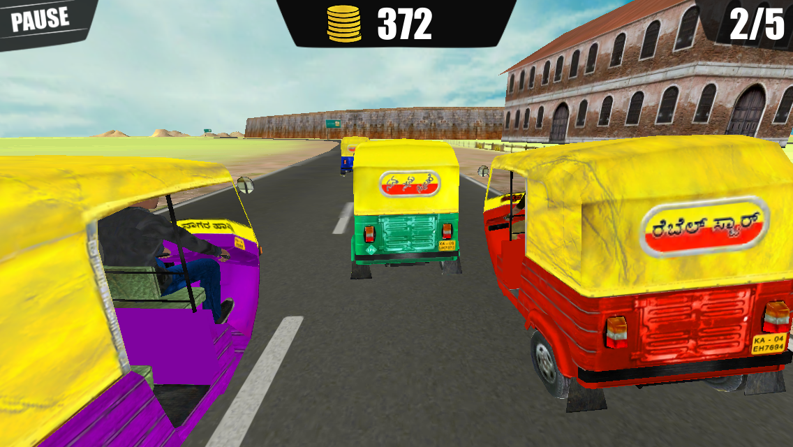 Auto Rickshaw Rash- screenshot