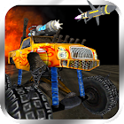 Crazy Monster Truck Fighter - Endless Truck Runner icon