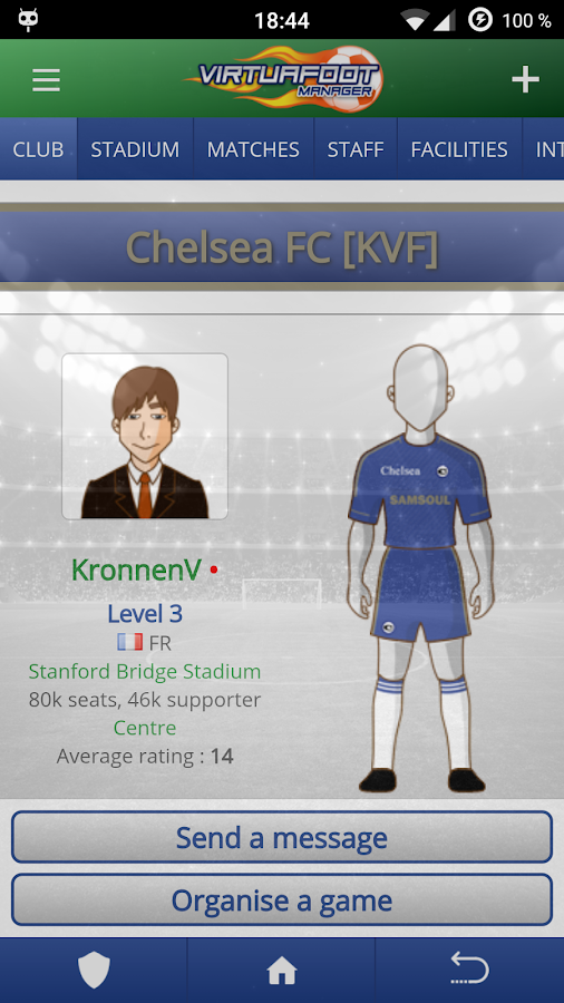 how to choose your own club attribute football manager