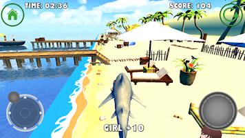 Screenshot of Shark Simulator