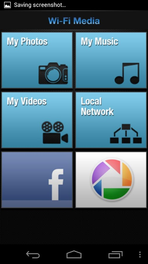 Wi-Fi Media - Media on TV - screenshot