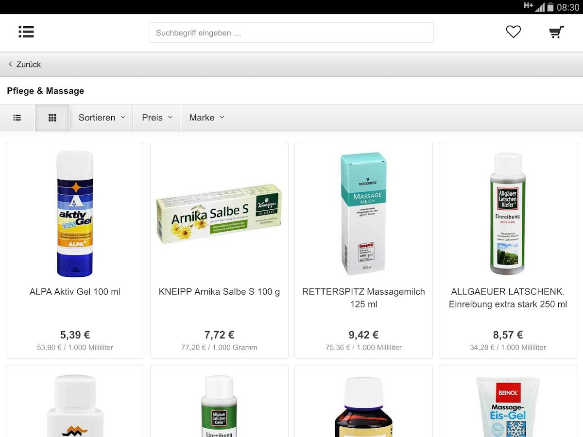 apodrom.de Versandapotheke- screenshot