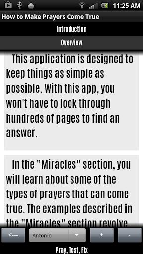 How To Make Prayers Come True