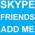 Skype Friends Add Me icon