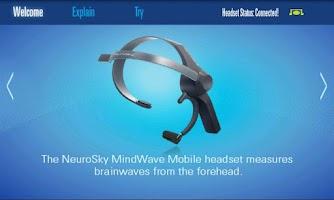 Screenshot of MindWave Mobile Tutorial