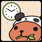 KAPIBARA-SAN Clock Widget06