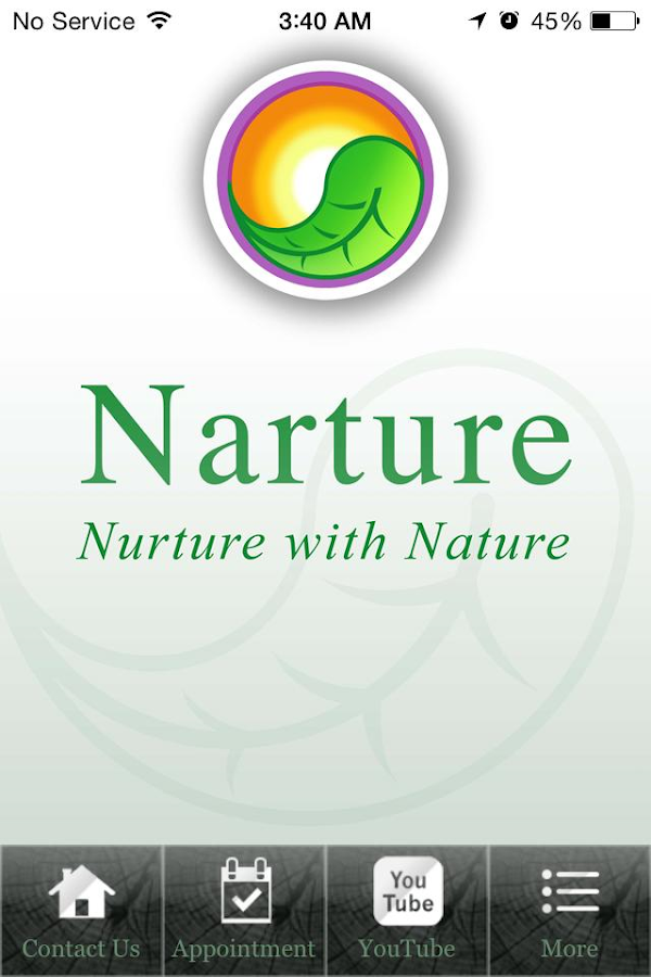 Narture- screenshot