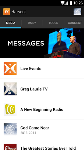Harvest: Greg Laurie