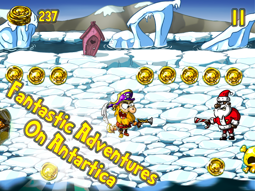 Evil Santas Vs Angry Pirates