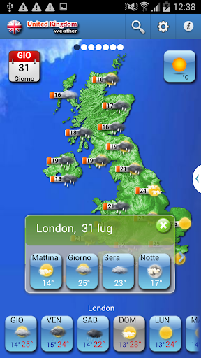 UNITED KINGDOM UK WEATHER