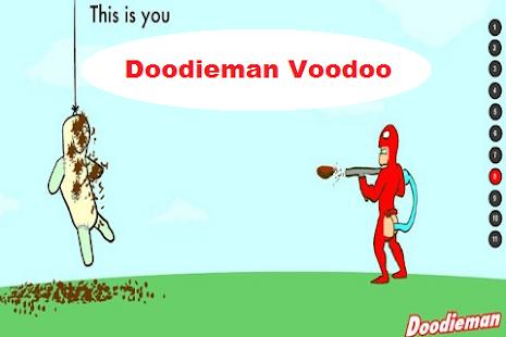 不喜歡Doodieman巫毒