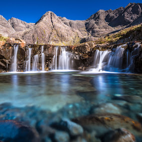Fairy pool by Federica Violin - Landscapes Waterscapes ( scotland, fairy pool, isle of skye )