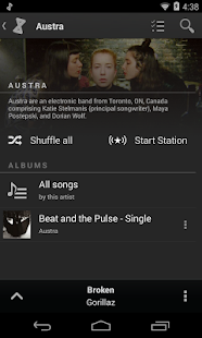 doubleTwist Music Player - screenshot thumbnail