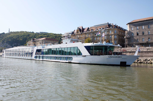 AmaLegro-exterior - The 150-passenger AmaLegro sails Europe's rivers while you relax and take in the sights and stop for shore excursions in charming villages and historic spots.