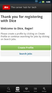 Dice Job Search - screenshot thumbnail