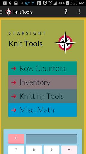 Knit Tools