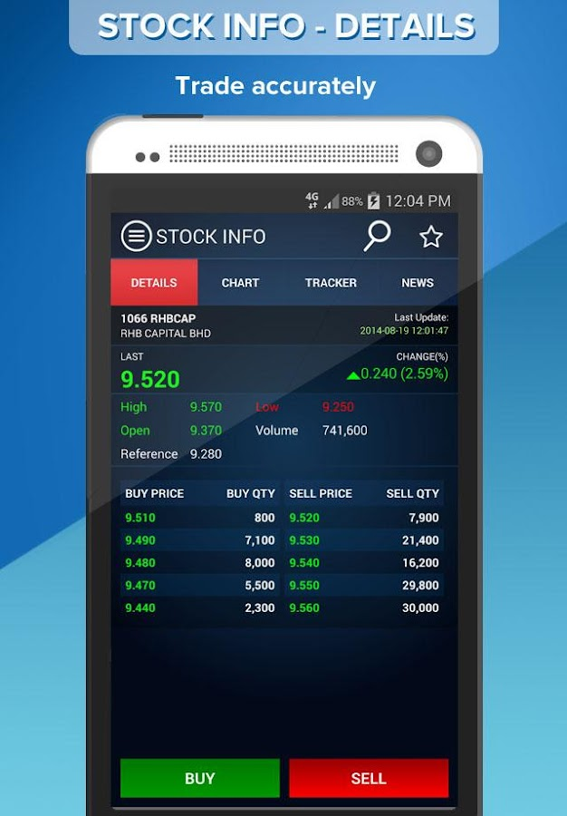 RHB TradeSmart- screenshot