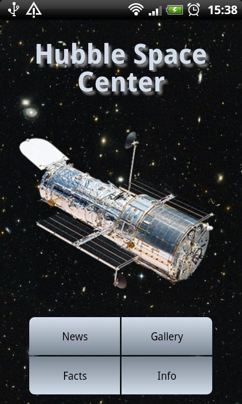 Hubble Space Center- screenshot