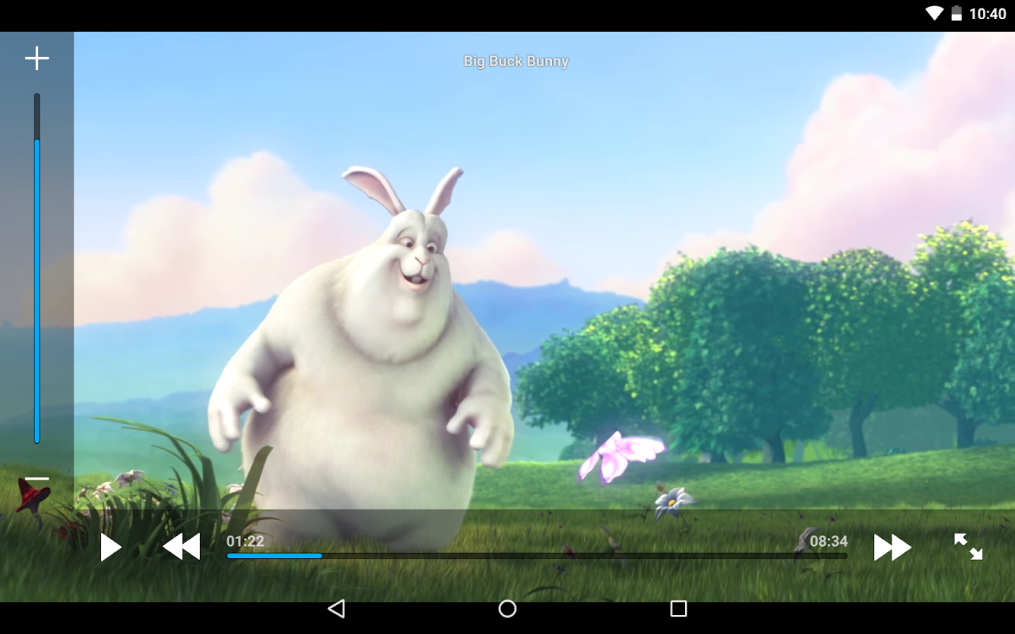 Archos Video Player– снимак екрана