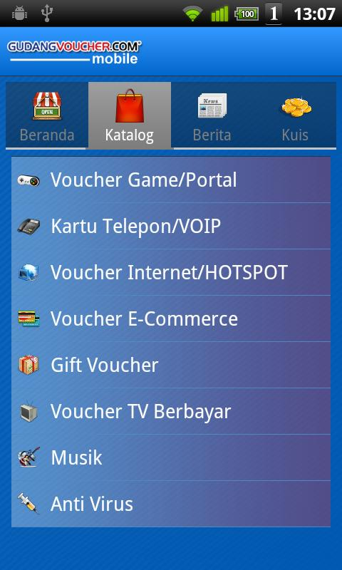 GudangVoucher Mobile- screenshot