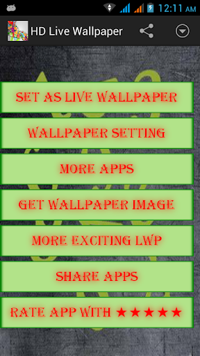 HDWallpaper Digital Clock