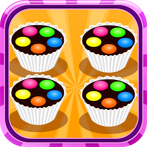Muffins Smarties On Top Icon