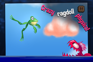 Screenshot of Frog Swing - Sticky Tongue