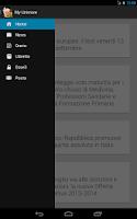 Screenshot of My Unimore