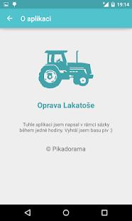 Oprava Lakatoše - náhled