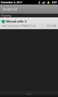 Missed Call - screenshot thumbnail