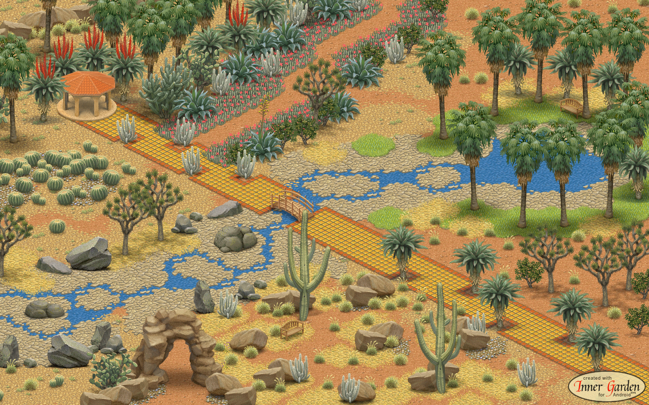 Inner Garden Desert Garden Android Apps On Google Play