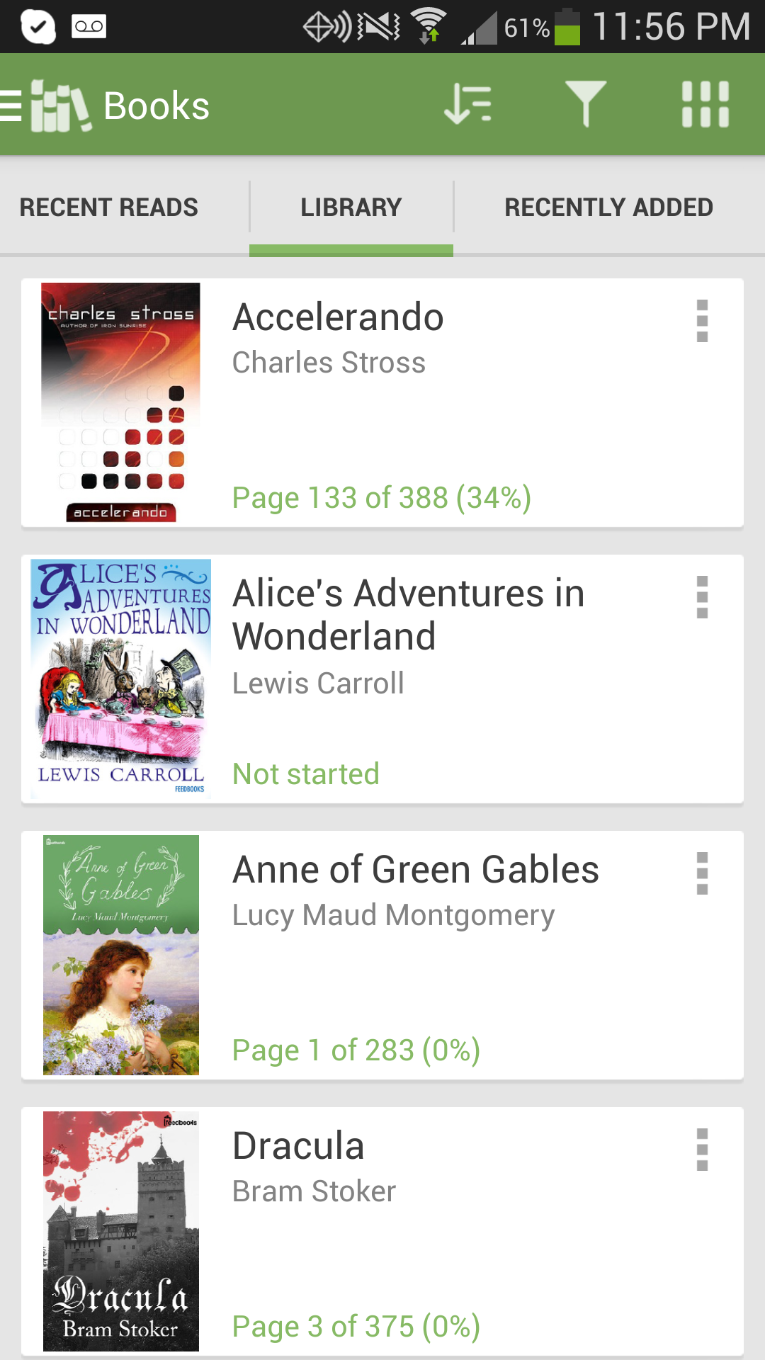 Aldiko Book Reader Premium screenshot #3