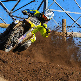 On the gas by Richard Caverly - Sports & Fitness Motorsports