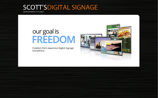 Scott's Digital Signage Player