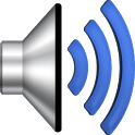 Louder device sounds icon
