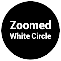 Zoomed White Circle