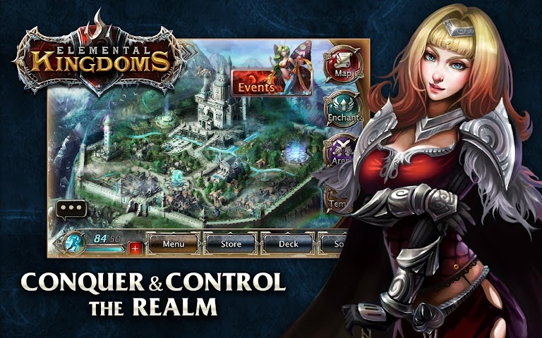 android Elemental Kingdoms (CCG) Screenshot 0