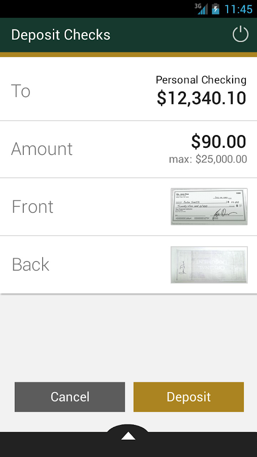First Republic Mobile Banking - screenshot