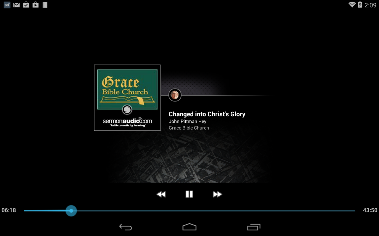 Grace Bible Church - screenshot