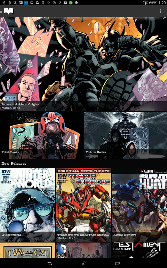 Madefire Comics & Motion Books - screenshot