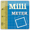 Millimeter – screen ruler logo